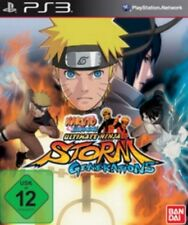PlayStation 3 Naruto Ultimate Ninja Storm Generations como nuevo