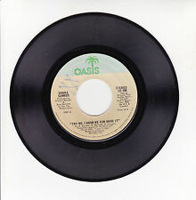 """Donna SUMMER Vinyl 45T 7"""" TRY ME I KNOW WE CAN MAKE IT - OASIS 406 F Rèduit RARE"""