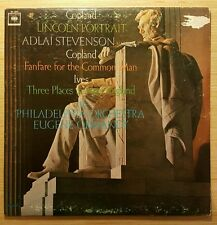 Copland: Lincoln Portrait, Fanfare & Ives: Three Places in New England LP VG+