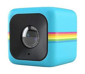 Polaroid Cube HD 1080p Lifestyle Action Video Camera (Blue)[Discontinued by M...
