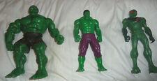 Lot de 3 Figurine Marvel dont 2 Hulk HASBRO