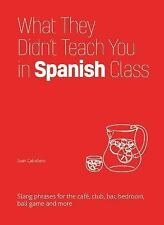 What They Didn't Teach You in Spanish Class: Slang Phrases for the Cafe, Club, B