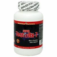 Testo Rx-7 Men's Formula 60 Capsules, Tribulus/Maca Testosterone Boost FREE SHIP