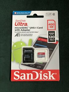 SanDisk Ultra 400 GB micro SD Memory Card + Adapter, Nintendo Switch compatible