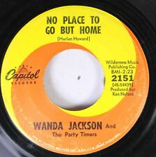 Country 45 Wanda Jackson And The Party Timers - No Place To Go But Home / My Bab