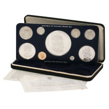 1976 Panama 9 coin Silver Proof Set
