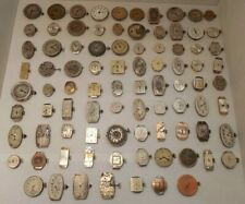 Lot of 87 - Vintage - Ladies - Swiss Made - Manual Wind - Wristwatch Movements