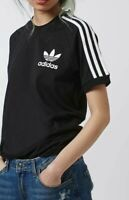 Women Adidas California Trefoil T-shirt short sleeve Black