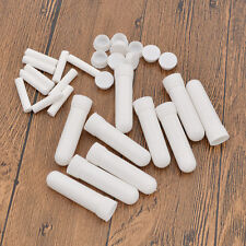 Aromatherapy Perfume Blank Nasal Inhaler White Diffusers 10 Sticks Empty Gift