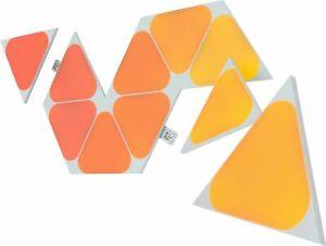 *NEW* Nanoleaf Shapes Mini Triangles Multicolor Light Panel Expansion Kit 10Pack