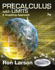 Math high school hardcover textbooks educational books for sale ebay precalculus with limits a graphing approach 7th edition by ron larson fandeluxe Choice Image