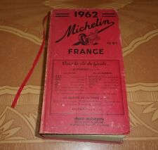 Michelin 1962 France Guide Book All French Version Michelin Tire Advertising