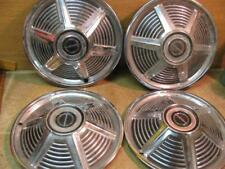 4 Vintage Ford Mustang Hubcaps 64 65 1964 1965