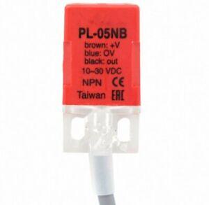 10pcs PL-05NB 5mm NPN  NC DC10-30V Inductive Proximity Sensor