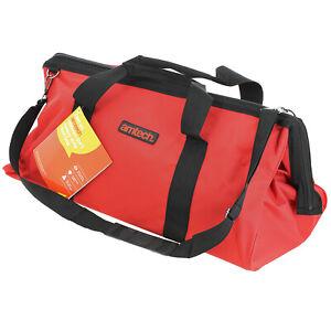 "24"" Heavy Duty Multi Purpose DIY Tool Box Water Resistant Storage Bag Holdall"