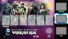 Dc deck building game forever evil playmat brand new & sealed bon marché!!!