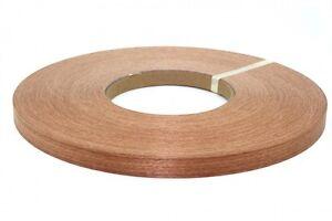 """Sapele pre glued 7/8""""x50' Wood Veneer edgebanding"""