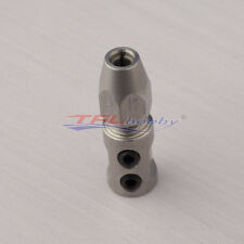 """flex collet coupler for 4mm motor shaft and 1/8"""" flex cable - rc boat 219"""