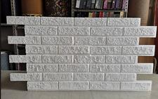 Pannello Polistirolo EPS Finta pietra mattoncini rivestimento stone fai da te