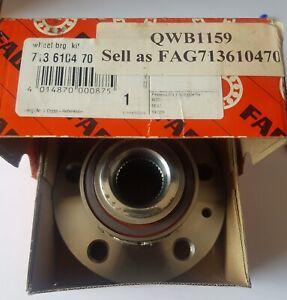 GENUINE AUDI, SEAT, SKODA, VW - Front Wheel Bearing Kit - FAG 713610470; QWB1159