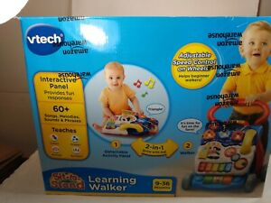 VTech Sit-to-Stand Learning Push Walker Learning Interactive Toy OpenBox
