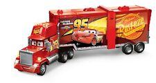 Mattel Disney Cars 2 in 1 Macks Mega Rennwelt Rennbahn Spielzeug Transporter