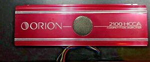 OLD SCHOOL ORION 2100HCCA COMPETITION RATED 1600 WATT AMP WORKS MADE IN U.S.A.