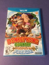 Donkey Kong Country Tropical Freeze [ First Print W/ Blue Cover ] (Wii U) NEW