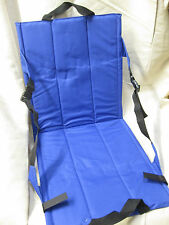 FESTIVAL SEAT IN BAG CAMPING PICNIC SITTING ON FLOOR BACK SUPPORT FISHING V FEST