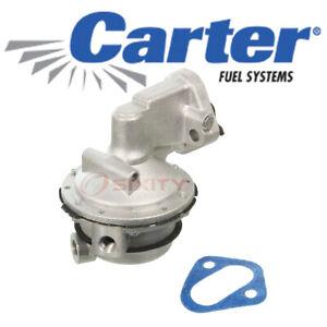 Carter Mechanical Fuel Pump for 1978-1986 Chevrolet K20 5.0L 5.7L 6.6L V8 ho