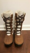 NWOB Timberland MT. Hayes Tall WATERPROOF Leather Boots, Women's Size 7