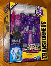 Transformers Bumblebee Cyberverse Adventures Deluxe Series Shockwave Figure