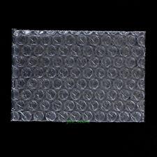 "105 PCS Bubble Cushioning Packing Pouch Plastic Bag 4"" x 5""_105 x 125mm_Open Top"