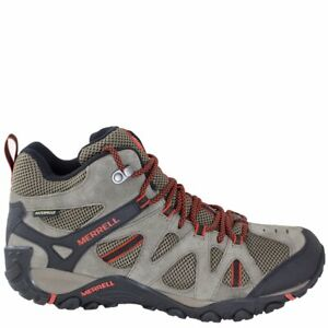 New Merrell Deverta Mid Vent Waterproof Hiking Boots Men's 11
