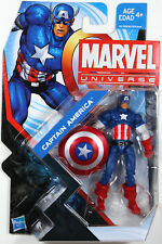 Marvel Universe ~ CAPTAIN AMERICA ACTION FIGURE ~ HASBRO