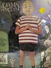 Boys Pugsley Addams Family Halloween Costume Size M 8-10 (A4)