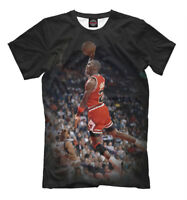 Michael Jordan tee - Slam dunk Throw in the basket  MJ basketball player t-shirt