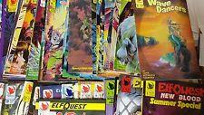 Alternative Comic lot Elf Quest New Blood 1-28 Wave Dancers 1-6 vf+ bagged