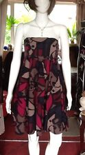 Cotton Multi Coloured And Patterned Bustier Dress From Emily And Fin. Large Size