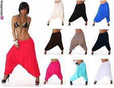 PUMPHOSE Haremshose S-XL Pluderhose Ballonhose Aladinhose Harem Hose Yoga UNI