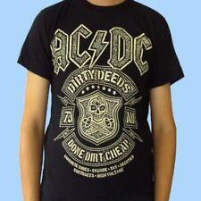 Camiseta AC/DC - Dirty Deeds. Camisetas rockeras de bandas de rock
