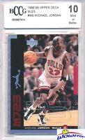 1998/99 Upper Deck MJ23 Insert #M9 Michael Jordan BECKETT 10 MINT Bulls HOF