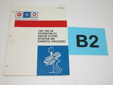 84-89 GM Distributorless Ignition Operations Diagnostic Procedures Manual #B2