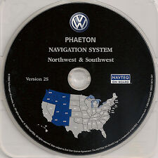 04 05 06 Volkswagen Phaeton Navigation CD Map Cover AZ CO ID NM OR UT WA WY MT