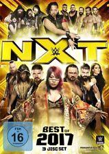 3 DVDs * WWE - NXT - BEST OF 2017 # NEU OVP &