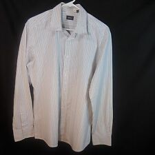 Men's White Multi-Color Striped Shirt, By Mexx. Size XL. Long Sleeves.