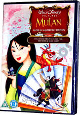 Mulan Walt Disney Special Musical Masterpiece Edition Animated DVD New Sealed