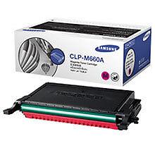 Genuine Samsung CLP610 CLP660 CLX6200FX CLX6240 Printer CLP-M660A Magenta Toner