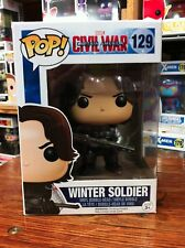 Pop Marvel Captain America 3 Winter Soldier Funko Pop Vinyl Expert Packaging
