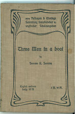 JEROME K. JEROME THREE MEN IN A BOAT VELHAGEN & KLASING 1904 ENGLISH AUTHORS